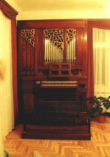 Practice Organ - Kaunas, Lithuania